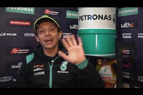 MotoGP: Rossi fala como piloto da Petronas pela primeira vez