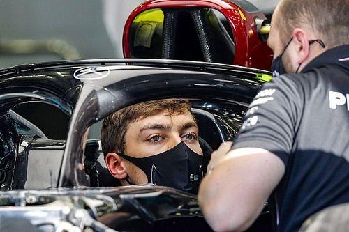 F1: la incómoda situación de George Russell cuando Mercedes le llamó