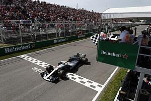 Formula 1 Yarış raporu Kanada GP: Hamilton kazandı, Mercedes duble yaptı!