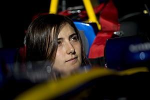 GP3 Nieuws Minder druk bij Calderon sinds verbintenis met Sauber