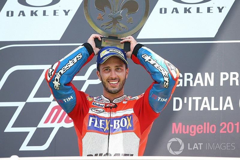 Course - Dovizioso triomphe à domicile avec la Ducati