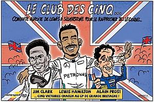 Formule 1 Contenu spécial Le GP de Grande-Bretagne vu par Cirebox!