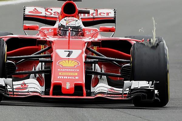 A Pirelli lezárta a vizsgálatokat Räikkönen bal elsőjén