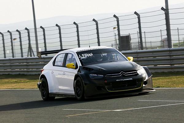 WTCC Test Prima uscita con la Citroën per John Filippi