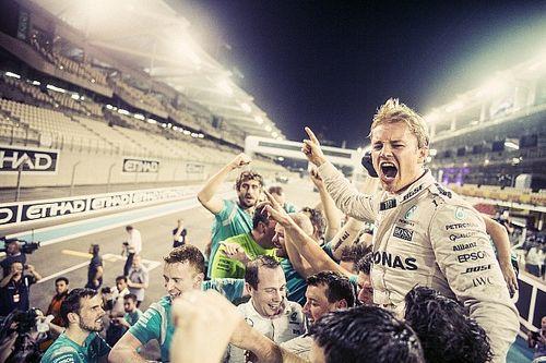 Rosberg: Büszke vagyok arra, hogy ugyanolyan autóban meg tudtam verni Hamiltont!