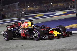 Formula 1 Practice report FP2 GP Singapura: Ricciardo pertajam rekor sirkuit, Vettel P11