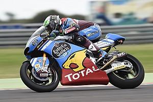 Moto2 Reporte de la carrera Morbidelli repite victoria; Márquez se cae cuando luchaba por la victoria