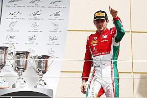 FIA F2 Race report F2 Bahrain:  Leclerc raih trofi juara perdananya, Gelael P17