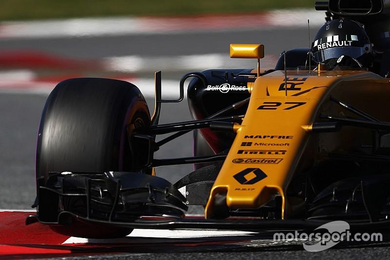 Renault на тестах не оправдала ожиданий Хюлькенберга