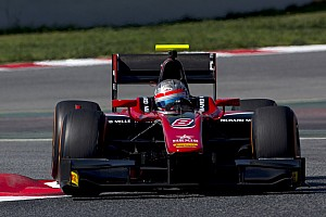 FIA F2 Testing report Albon heads second day of Barcelona F2 test