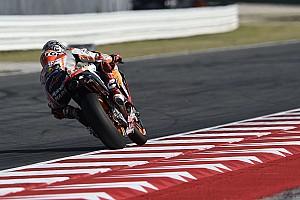 MotoGP Reporte de pruebas Márquez lideró la tercera práctica, con Viñales a una décima