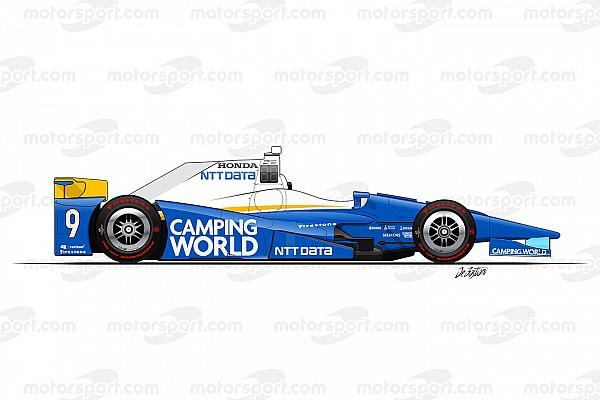 IndyCar Top List Galería: todas las decoraciones de los 33 coches de Indy 500