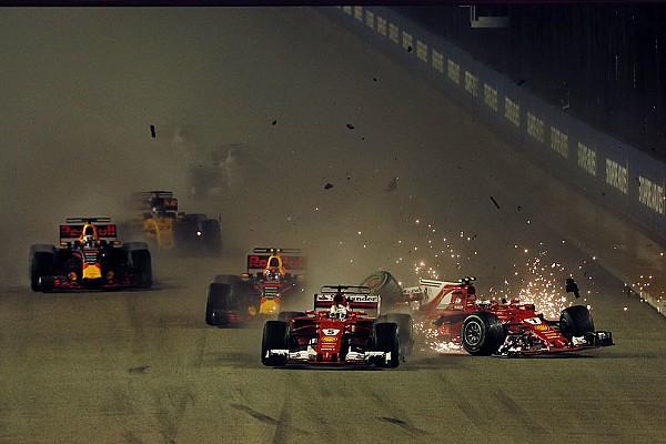 Photos - Le chaotique départ du Grand Prix de Singapour