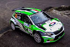 ERC Ultime notizie Rubata la Skoda Fabia R5 di Max Rendina prima dell'Acropolis Rally!