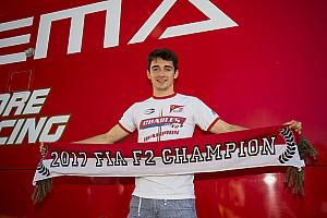 FIA F2 Artículo especial La columna de Leclerc: Una confusión que casi me cuesta el título