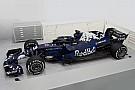 Red Bull desvela su RB14... con una decoración provisional