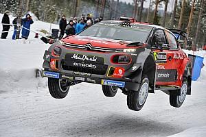WRC Motorsport.com hírek A leglátványosabb felvételek a Svéd Raliról: tempó a nagy hóban