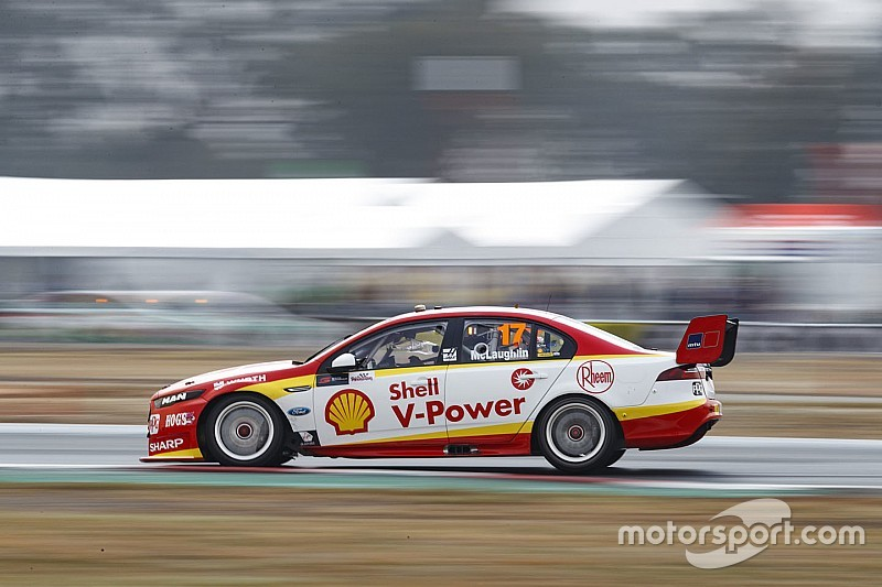 Winton Supercars: McLaughlin grabs Sunday pole
