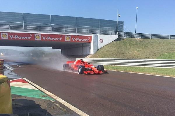 Формула 1 Важливі новини Квят проїхав 118 кіл за кермом машини Ferrari в п'ятницю