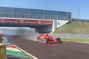 Formula 1 Ultime notizie F1 test Pirelli: per Kvyat 118 giri a Fiorano sul bagnato con la Ferrari