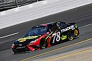 NASCAR Cup Truex wins Stage 1 at New Hampshire after lengthy rain delay