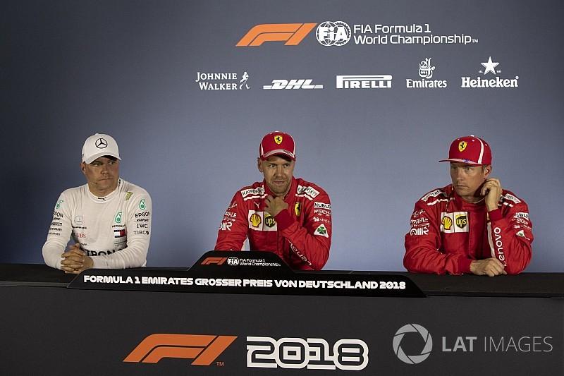 German GP: Post-qualifying press conference