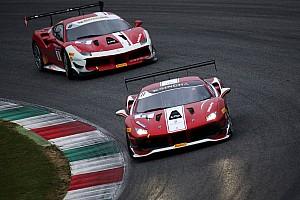 Ferrari Gara Europe, Gara 2 interrotta da un crash spettacolare. Vince ancora Nielsen