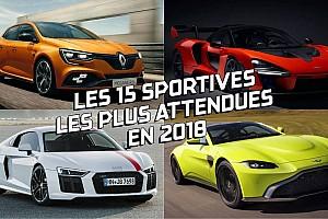 Auto Actualités Diaporama - Les sportives les plus attendues de 2018