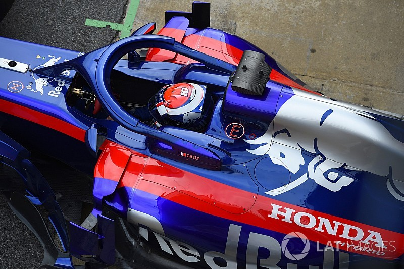 Gasly says he ripped his overalls with halo
