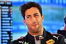 Ricciardo se sintió