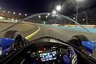 IndyCar Fejkamerás videón a szélvédős IndyCar-teszt, éjszaka