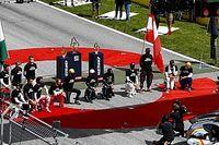 ¿Qué pilotos de F1 se arrodillaron antes del GP de Estiria?