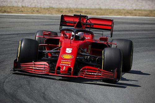 """Vettel: """"Şasi değişiklikliğinin ardından araç 'biraz daha mantıklı' hale geldi"""""""