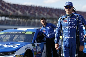 "Larson says Talladega pace was ""embarrassing at times"""