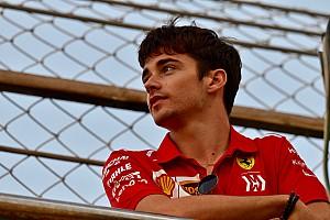 Leclerc se fija como objetivo ganar dos carreras en 2019: