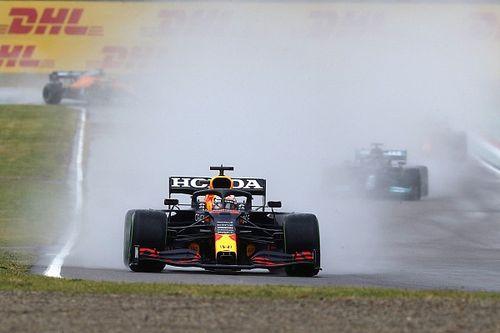 """Verstappen wint spektakelstuk in Imola: """"Het was heel verraderlijk"""""""