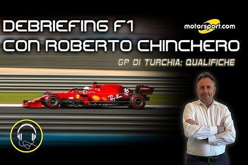"""Podcast, Chinchero: """"Sull'asciutto Leclerc può giocarsi il podio"""""""