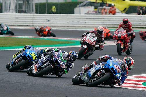 Álex Rins chute encore en voulant suivre les Ducati