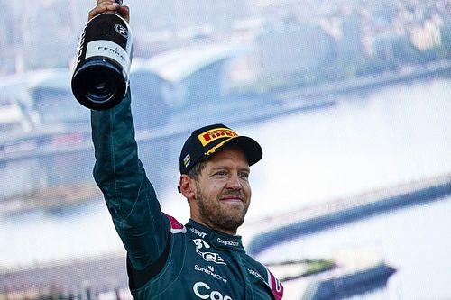 Vettel két okból örül a Red Bull remek teljesítményének