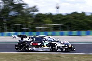DTM Jelentés a versenyről DTM, Hungaroring: René Rast első futamgyőzelmét szerezte a második versenyen