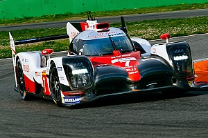 WEC Testing report Toyota beats Porsche in second WEC test session