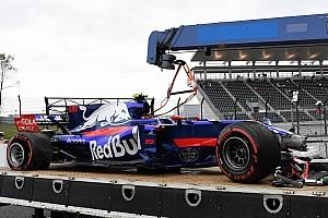 F1 Noticias de última hora Sainz admite que no tiene explicación para su accidente
