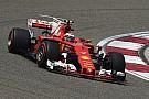 Räikkönen admet un début de saison