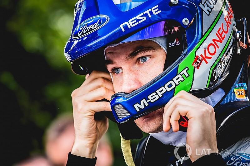 Suninen, 2018'de M-Sport'la sekiz ralliye katılacak