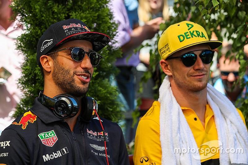 Hulkenberg sees Ricciardo match-up as chance to prove himself