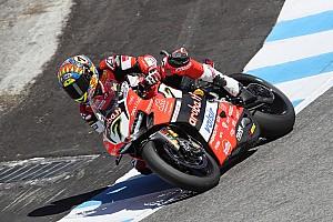 Superbike-WM Rennbericht WorldSBK Laguna Seca 1: Davies schlägt nach Horror-Crash von Misano mit Sieg zurück