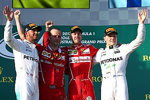 Formula 1 Race report GP Australia: Duel strategi, Vettel juarai balapan perdana F1 2017