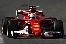 Formula 1 Ferrari: provata l'ala posteriore a cucchiaio sulla SF70H