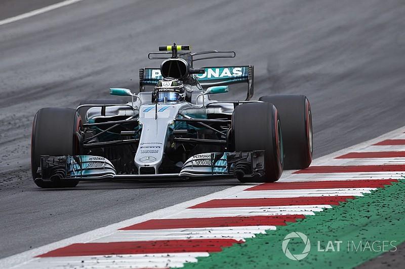 【F1イギリスGP】FP1速報:ボッタスがトップタイム。アロンソ8番手