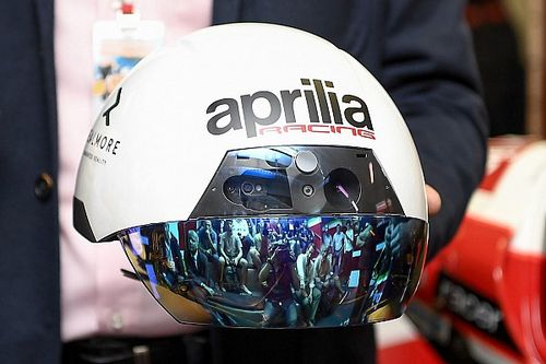 Gallery: Aprilia introduces Augmented Reality helmet at Misano